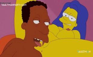 Simpsons porno hentai xxx negão comendo a marge